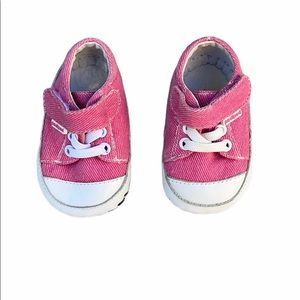Pediped pink white soft walker shoes 0-6 months